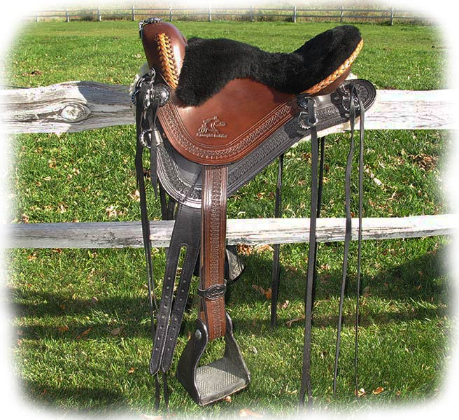 Custom Designed Saddle