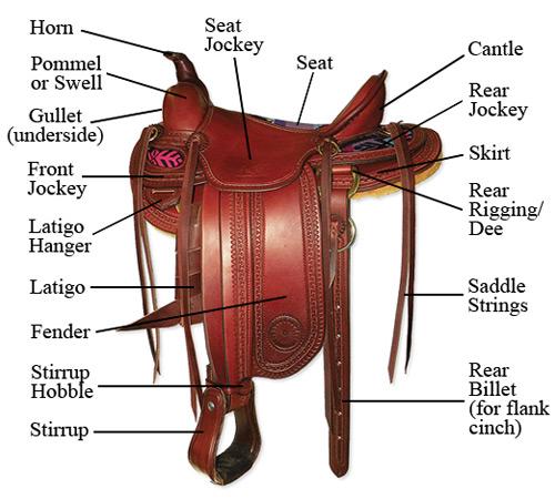 Similiar Western Tack Parts Keywords